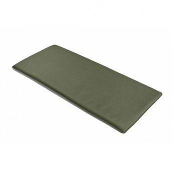 HAY - Palissade Sitzkissen 118.5x54.5cm - olivgrün/wasserabweisend/für Palissade Lounge Sofa