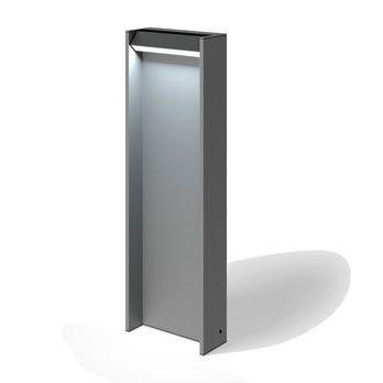 - Slat 70 LED Pollerleuchte - space gray/matt/440lm/3000K/dimmbar/H x B x T: 70 x 22,4 x 9,3cm