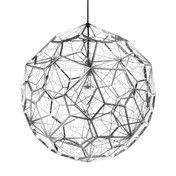 Tom Dixon - Etch Light Web Pendelleuchte - edelstahl/Ø60cm