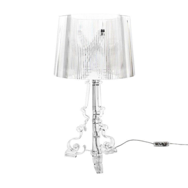 Kartell   Bourgie Table Lamp   Transparent/polycarbonate ...