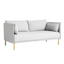 HAY - Silhouette Duo 2-Seater Sofa Frame Oak