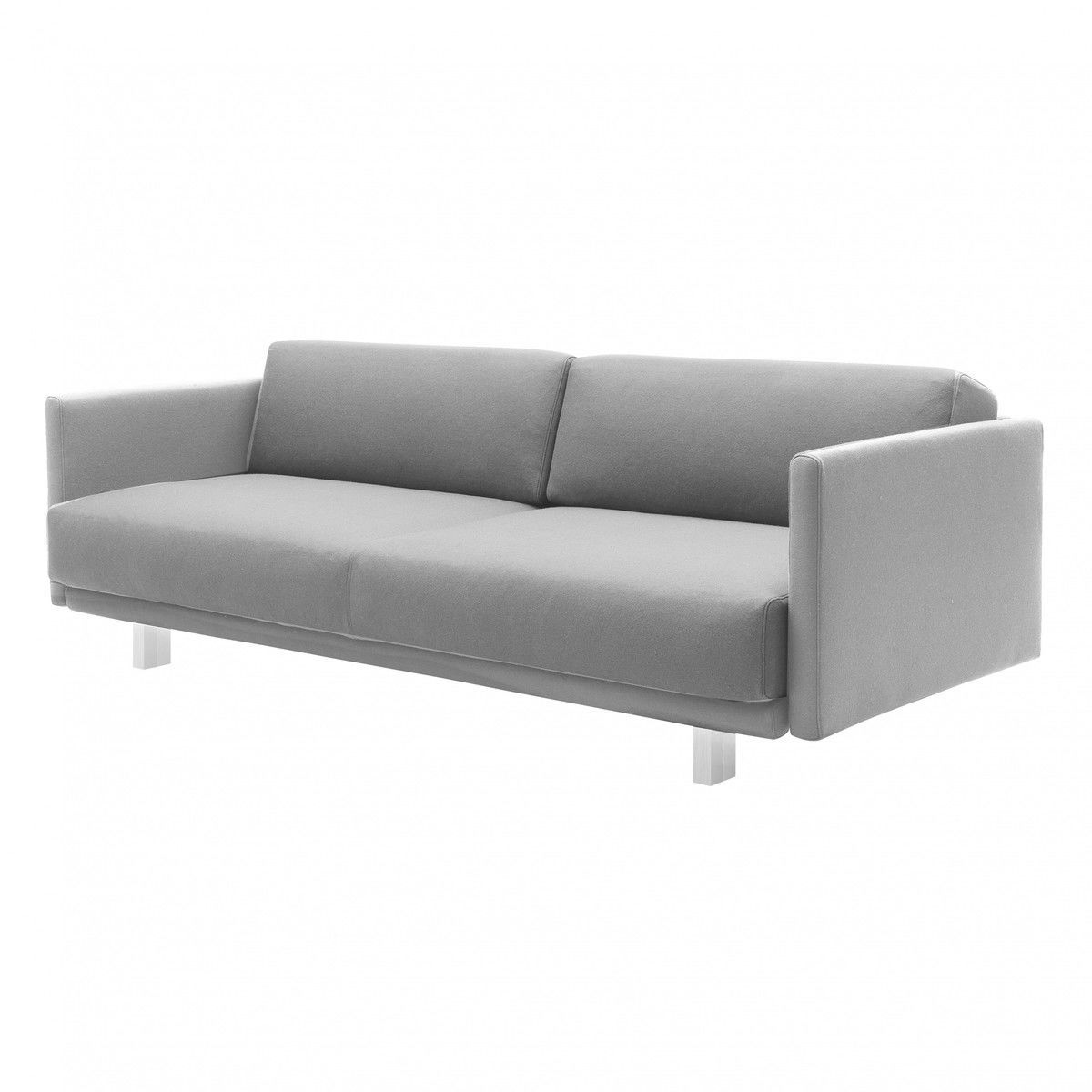 schlafsofa hellgrau m belideen. Black Bedroom Furniture Sets. Home Design Ideas