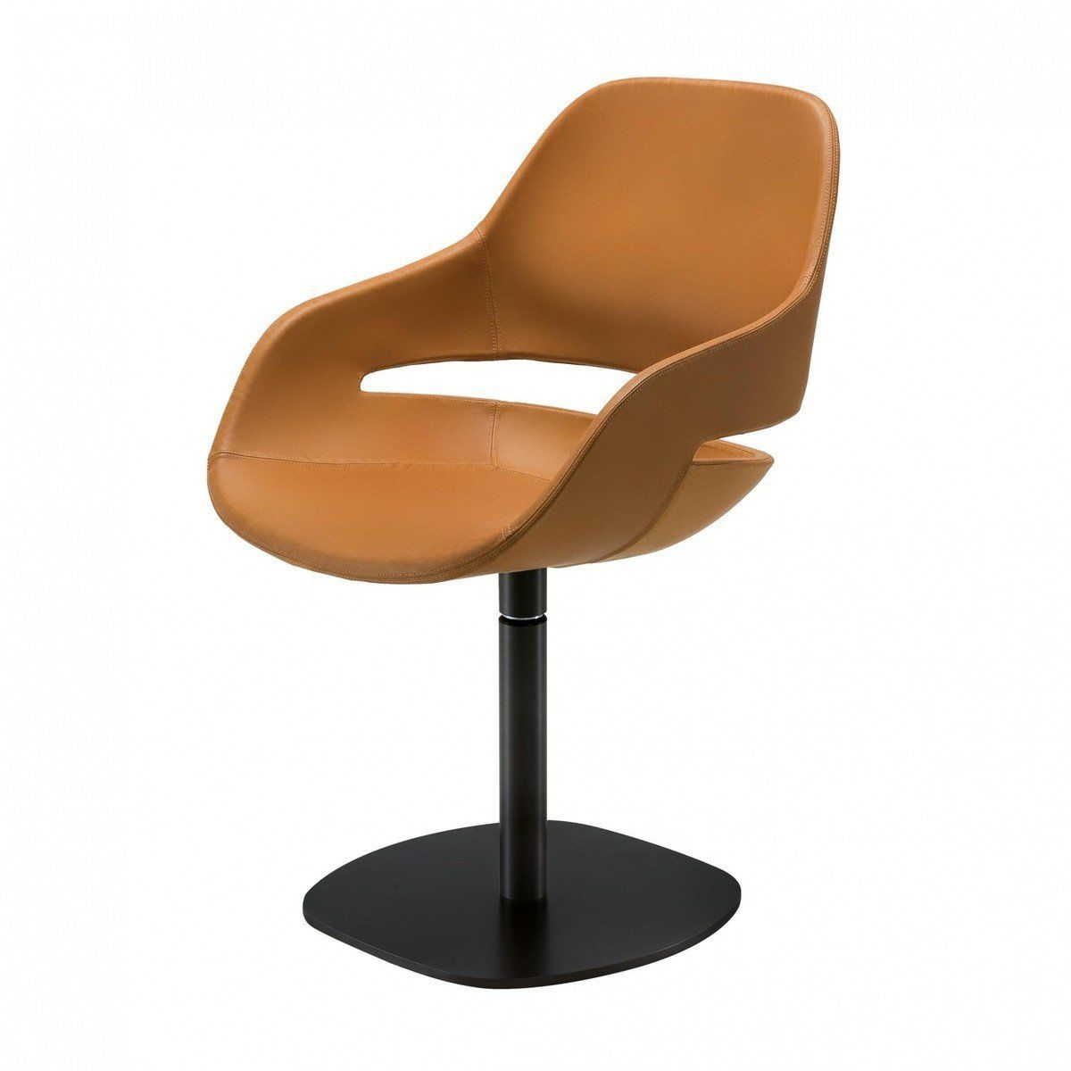 eva swivel chair zanotta. Black Bedroom Furniture Sets. Home Design Ideas