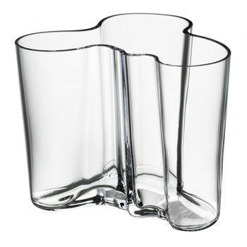 iittala - Alvar Aalto Vase 120mm - transparent