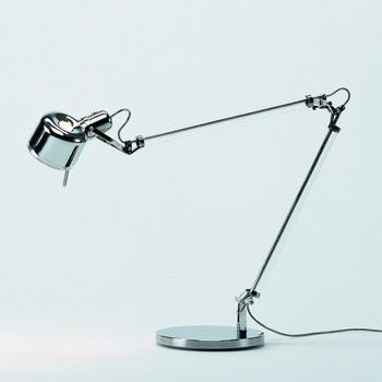 Job Desk Lamp: Serien - Job Schreibtischleuchte - edelstahl/poliert/mit StandfuÃ?/1320lm,Lighting