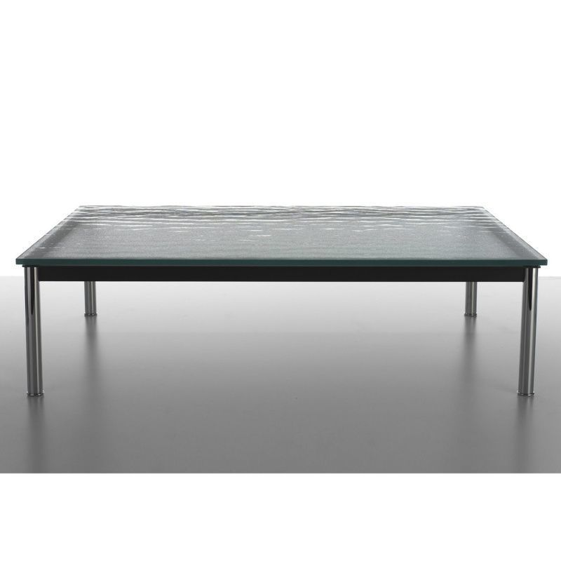 Le corbusier lc10 p outdoor table basse cassina - Table basse corbusier ...