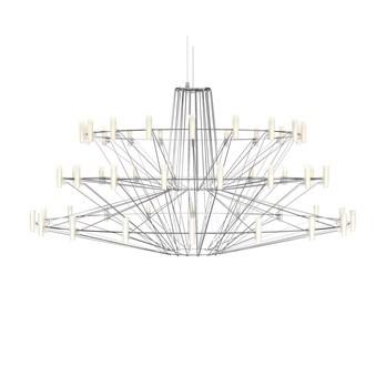 Moooi - Coppélia LED-Pendelleuchte - chrom/poliert/2700K/600lm/H 54cm/Ø 101cm