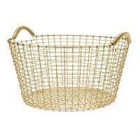 Korbo - Classic 35 Brass Wire Basket