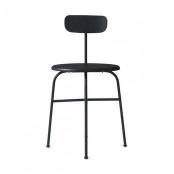 Menu - Afteroom Dining Chair 4 Stuhl - schwarz/pulverbeschichtet/BxHxT 45,5x76,5x51cm