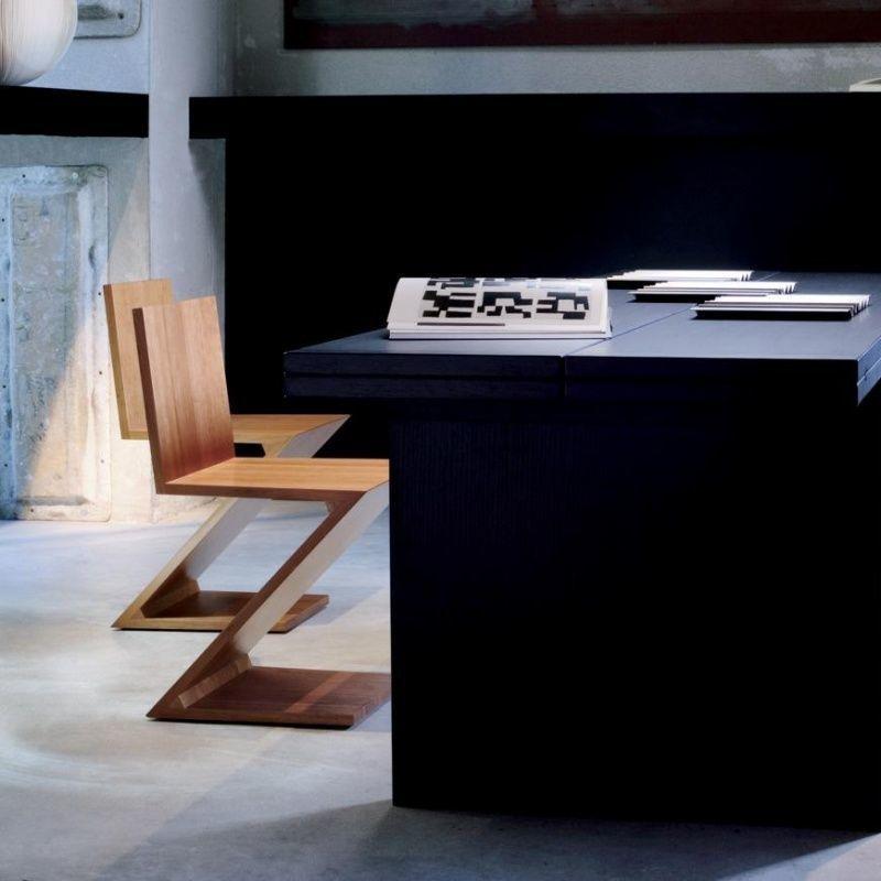 Zigzag rietveld stuhl cassina for Stuhl abc design