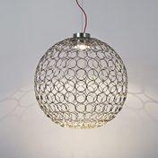 Terzani - G.R.A Suspension Lamp Ø54cm - nickel/glossy