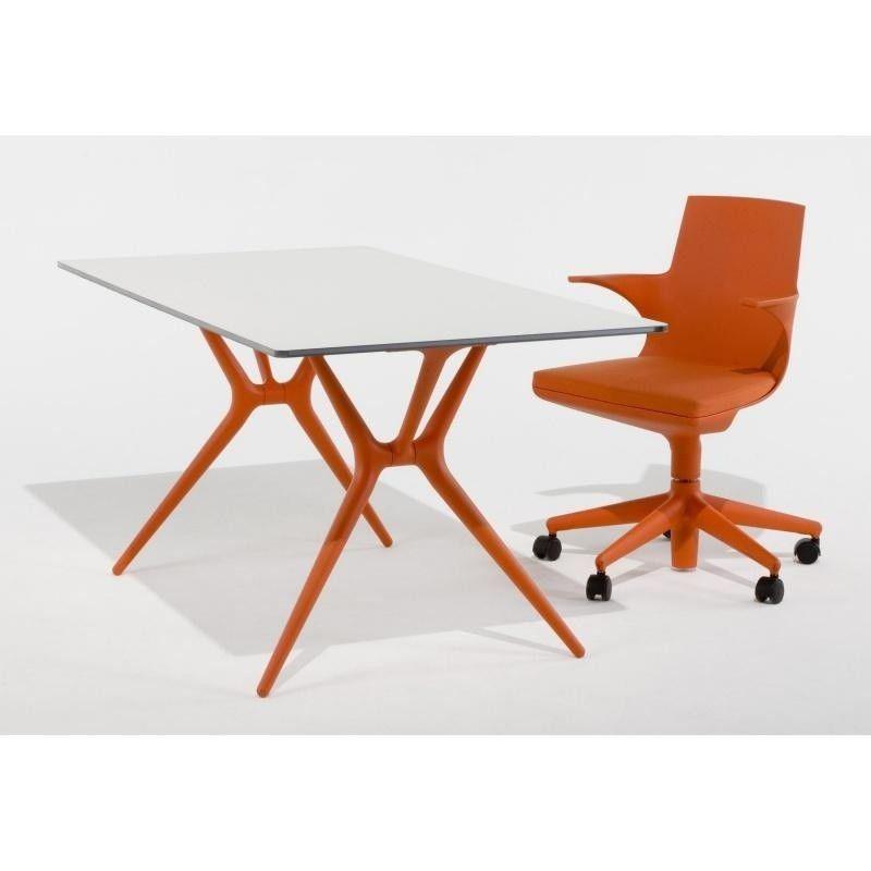 Spoon tafel 200cm kartell - Witte salontafel thuisbasis van de wereldberoemde ...