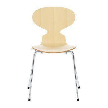 Ameisen Stuhl die ameise stuhl naturfurnier 46cm fritz hansen ambientedirect com