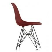 Vitra - Chaise Eames Plastic DSR structure noire