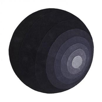VerPan - Luna Neuseeland-Wollteppich - grau/Ø 120cm/Lieferbar ab April 2017