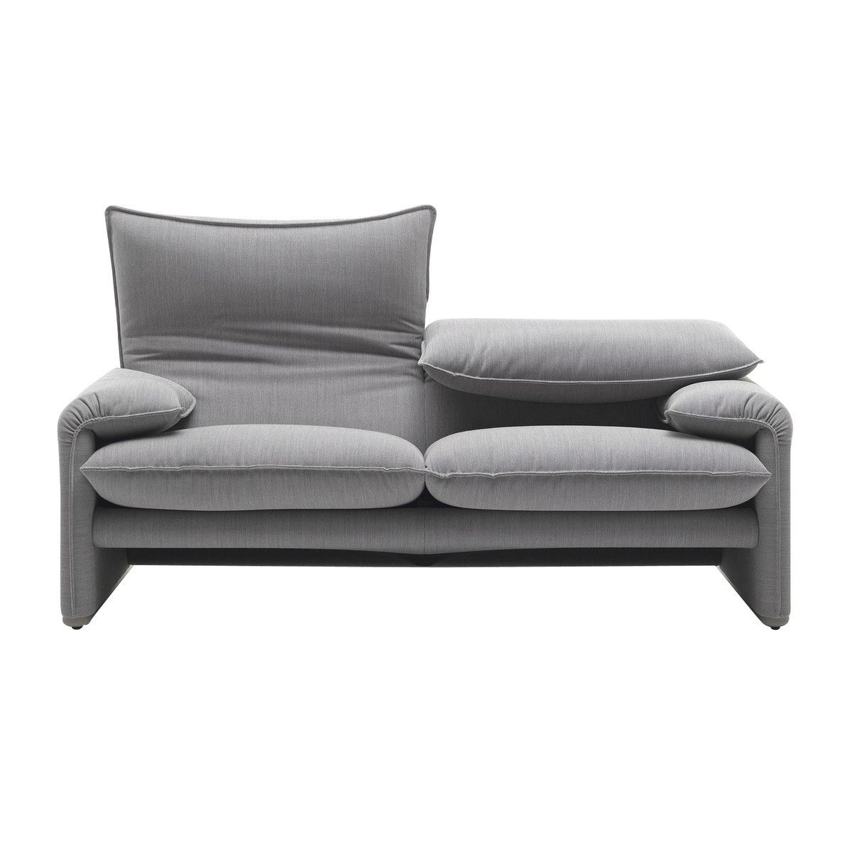 maralunga 40 2 seater sofa 190x86cm cassina. Black Bedroom Furniture Sets. Home Design Ideas
