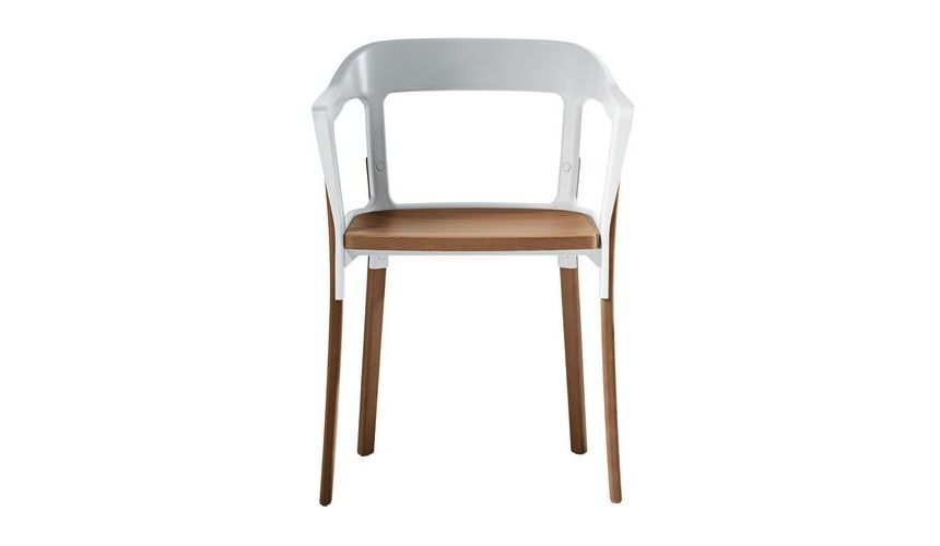 Metal Restaurant Chairs Steelwood Chair Armchair | Magis | Ambientedirect