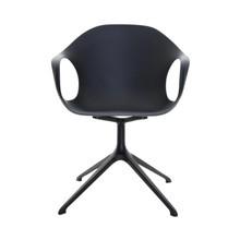 Kristalia - Elephant - Chaise pivotant 4 pieds étoilés