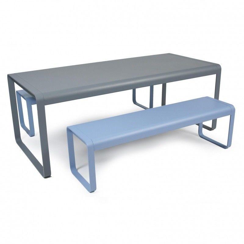 bellevie gartenbank fermob. Black Bedroom Furniture Sets. Home Design Ideas