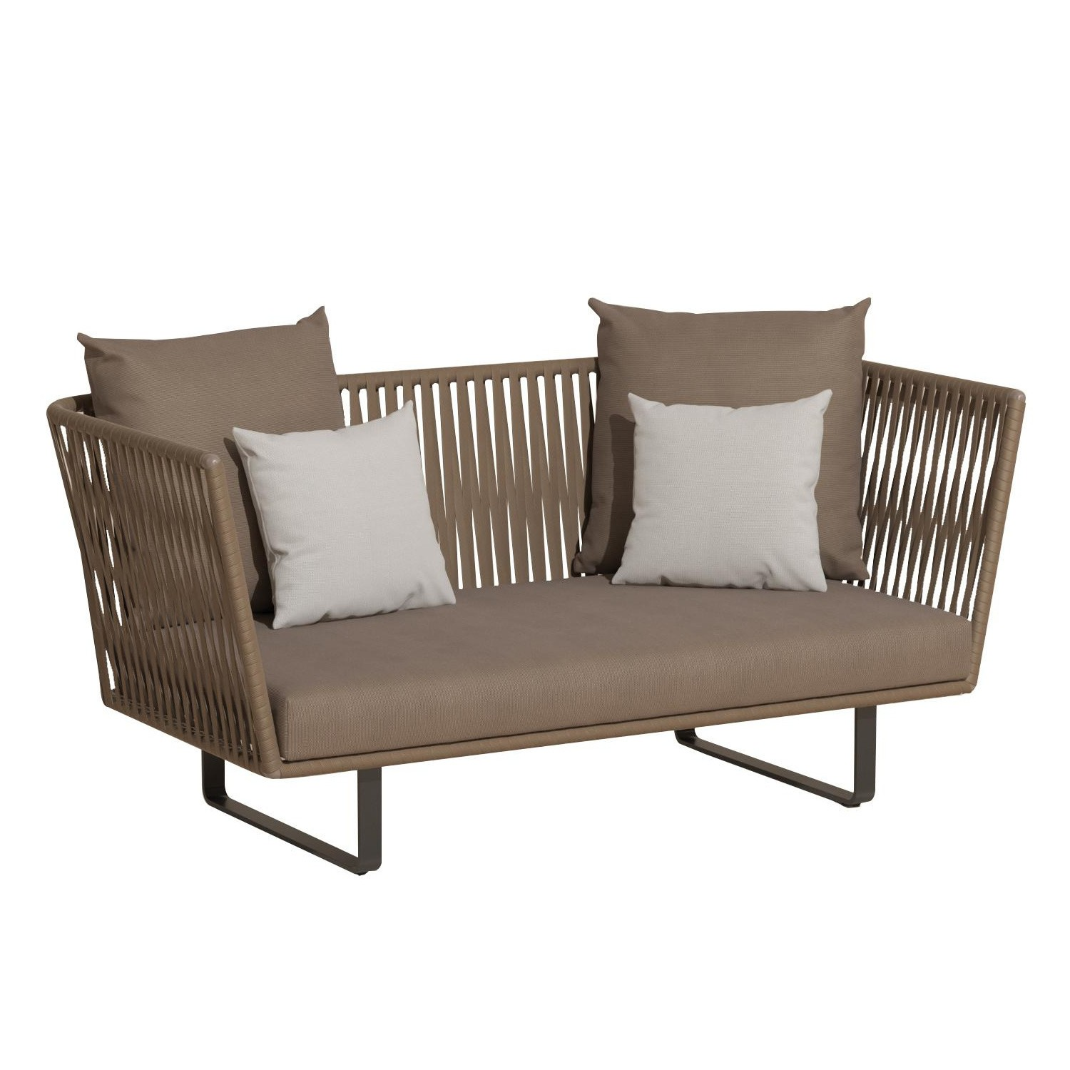 Kettal Bitta 2 Seater Outdoor Sofa Ambientedirect