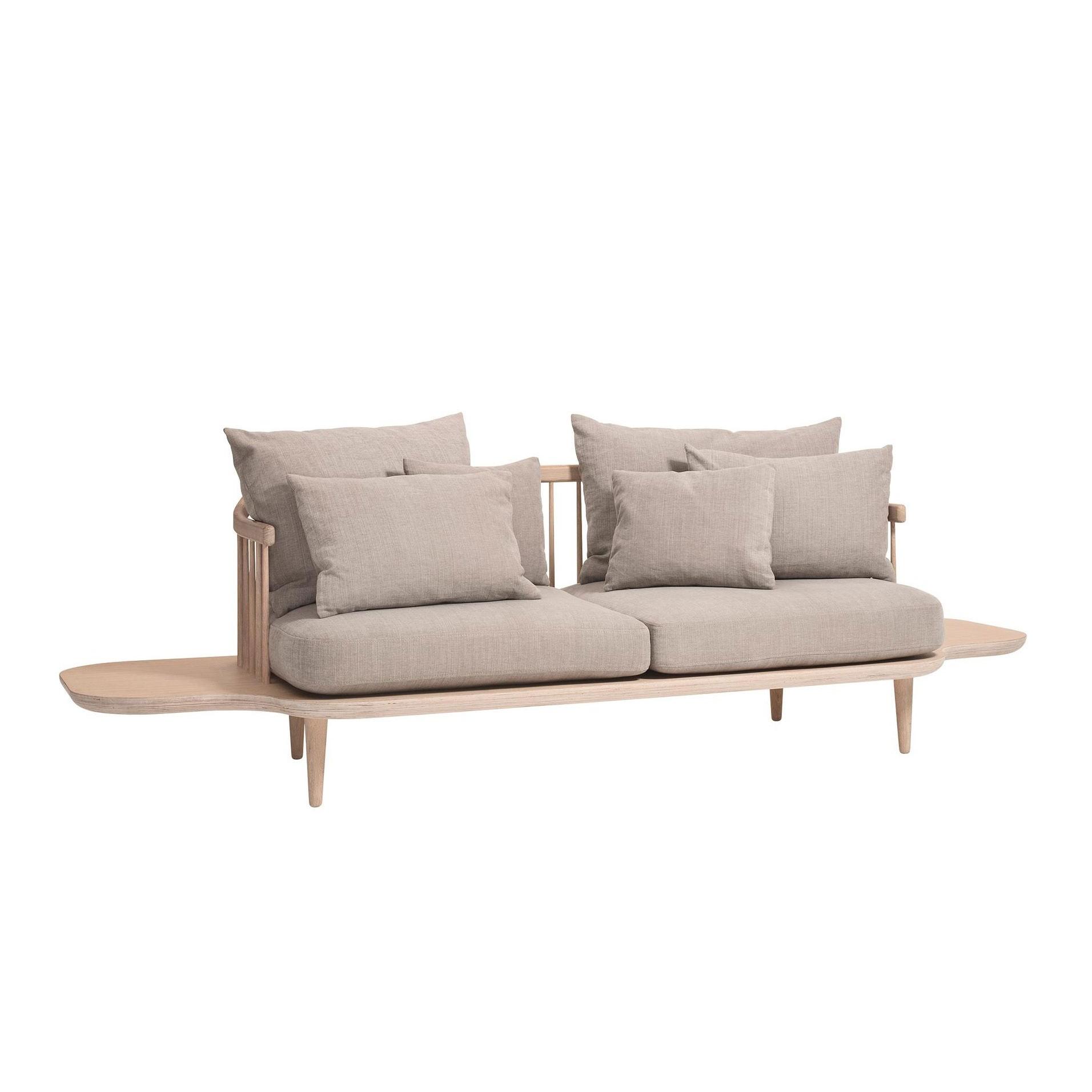 Terrific Fly Sc3 2 Seater Sofa With Side Tables Inzonedesignstudio Interior Chair Design Inzonedesignstudiocom