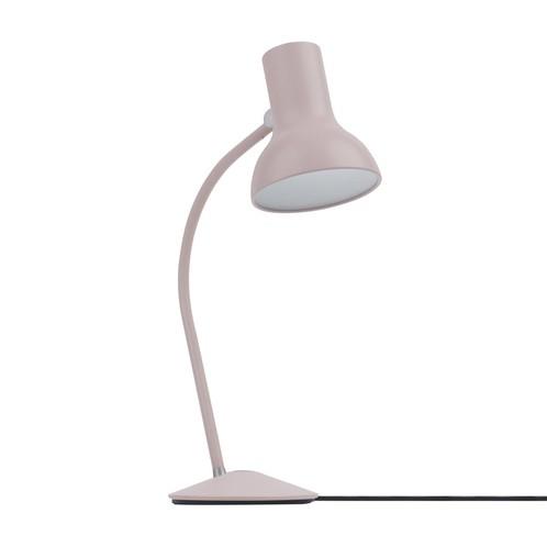 Industrial Desk Lamp Table Light Bulb Lantern Battery Operate Metal Metallics