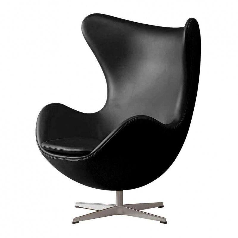 ... Fritz Hansen   Aktion Egg Chair/Das Ei Sessel + Hocker Leder