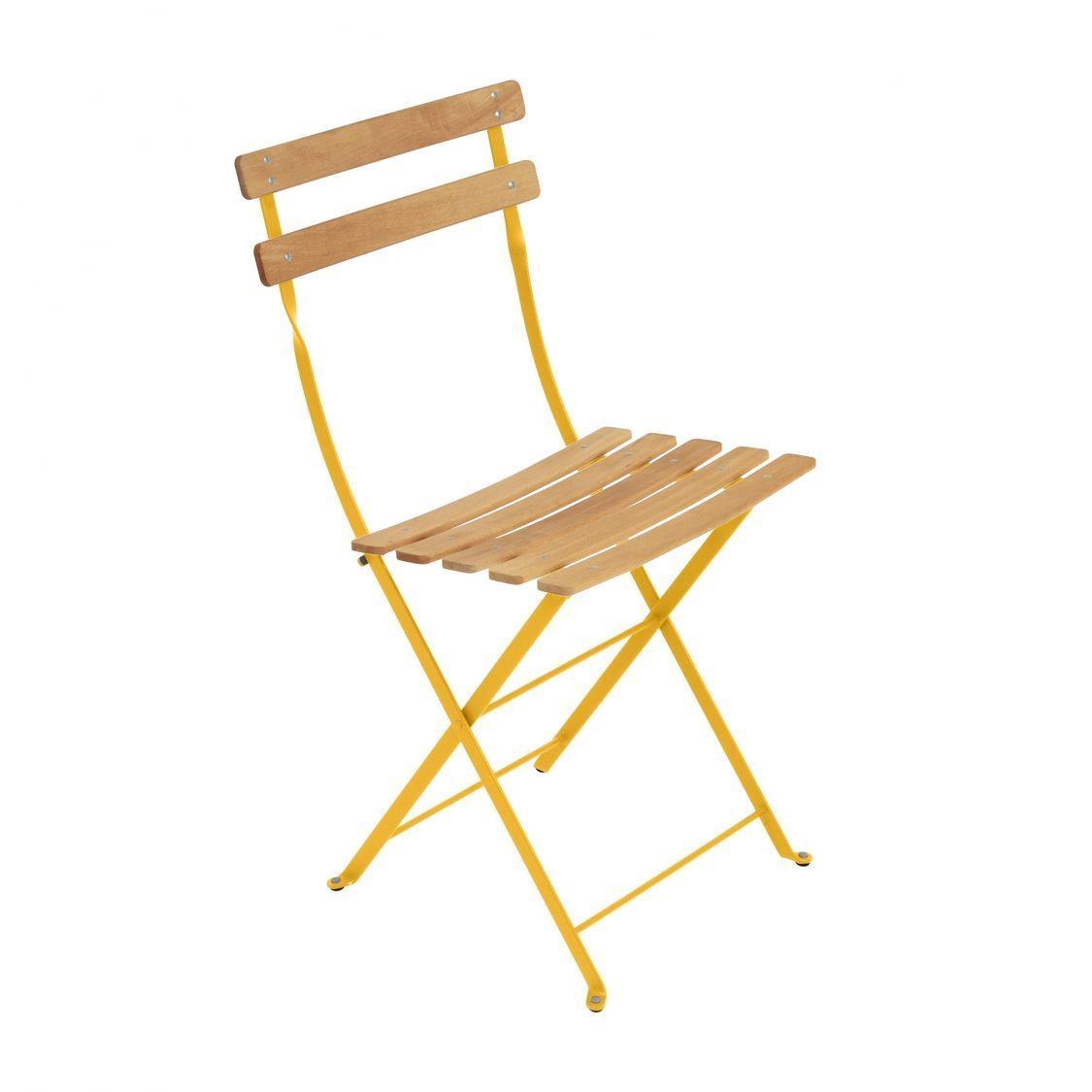 bistro naturel chaise pliante fermob. Black Bedroom Furniture Sets. Home Design Ideas