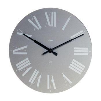 Alessi - Firenze - Reloj de Pared - gris/Ø 36 cm