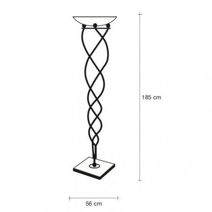 Terzani Antinea Terra Floor Lamp Ambientedirect