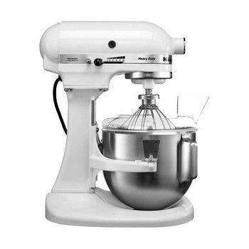 KitchenAid - Heavy Duty 5KPM5 Küchenmaschine - weiß / 315W/4,8L