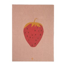 ferm LIVING - Strawberry Blanket