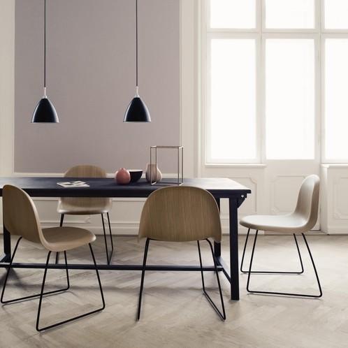 Gubi - Gubi 3D Dining Chair Stuhl Kufengestell Chrom