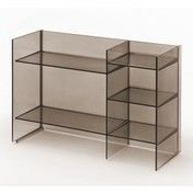 Kartell - Sound-Rack Regal - rauchgrau
