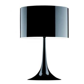 Flos - Spun Light T1 Tischleuchte - schwarz/glänzend