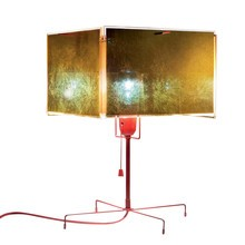 Ingo Maurer - 24 Karat Blau T Table Lamp