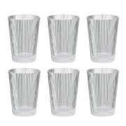 Stelton - Set de 6 verres Pilastro
