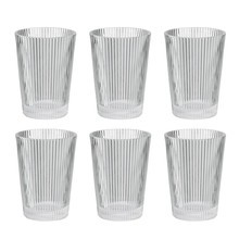 Stelton - Pilastro Drinking Glass Set of 6