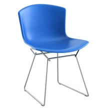 Knoll International - Bertoia Molded Shell Side Chair Gestell Chrom