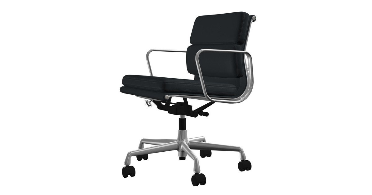 Vitra Ea 217 Soft Pad Eames Alu Chair Office Chair Ambientedirect