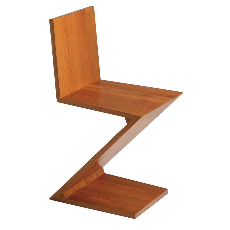 Zigzag rietveld stoel cassina for Muebles morte