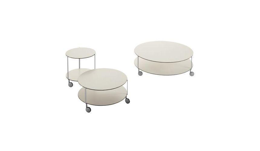 Gir mesa auxiliar con ruedas zanotta - Mesa auxiliar con ruedas ...