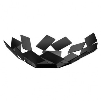 Alessi - La Stanza dello Scirocco Korbschale - schwarz/lackiert/Stahl