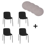 Magis - Magis Troy Chair Outdoor Set With Seat Pads