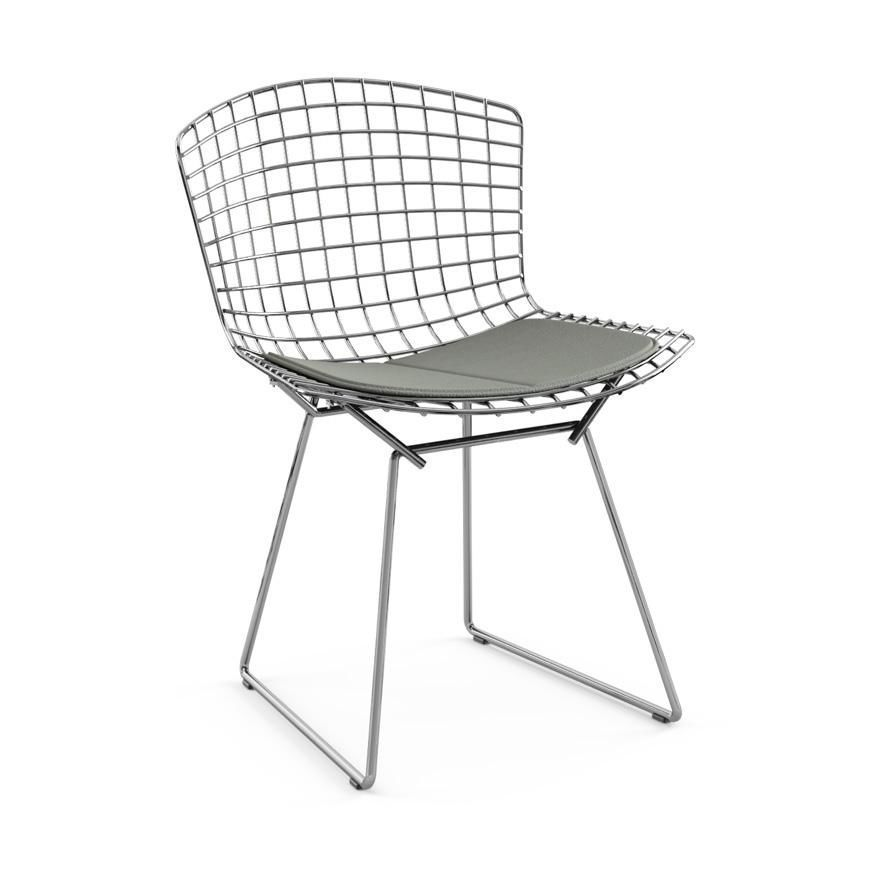 galette pour chaise bertoia interesting fauteuil bertoia diamond bertoia diamond knoll chair in. Black Bedroom Furniture Sets. Home Design Ideas