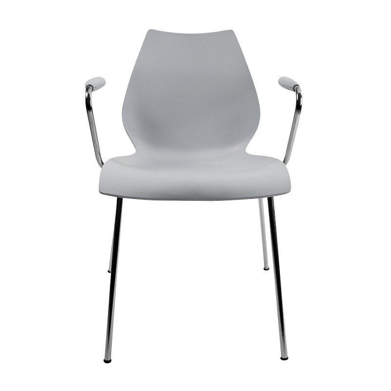 Kartell   Maui Chair With Armrest   Light ...