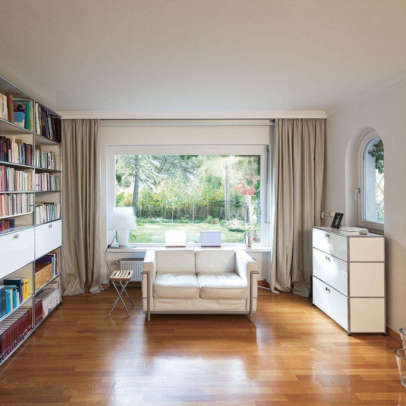 usm highboard mit 2 klappt ren schublade usm haller. Black Bedroom Furniture Sets. Home Design Ideas