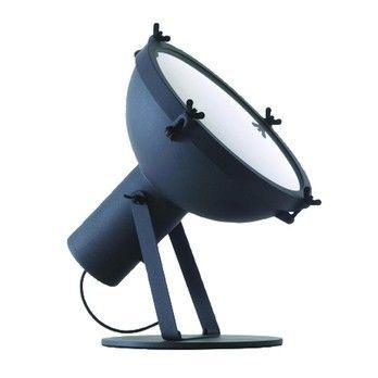 Nemo - Projecteur 365 Floor Lamp - night blue/sandblasted/H: 43cm/Ø37cm