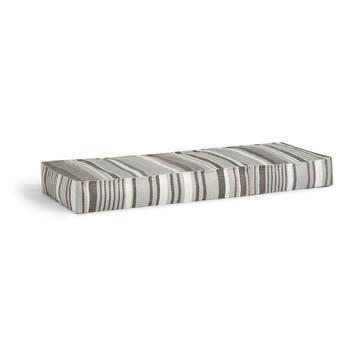 Weishäupl - Chill Daybed - silber gestreift/200x70x20cm