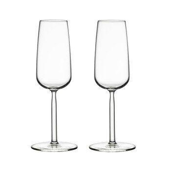 iittala - Senta Champagnerglas Set 2tlg. - transparent/21cl